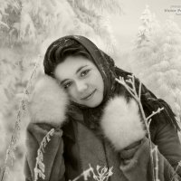 теплые варежки_МОРОЗКО :: Виктор Перякин