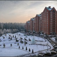 Январь. Зима. Альпийская горка :: DimCo ©