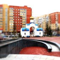 Собор Успения Пресвятой Богородицы (вход).Астана. :: TATYANA PODYMA