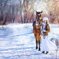 лошади....... :: Света Солнцева