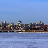 Правый берег зимой :: Юрий Стародубцев