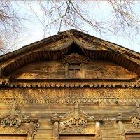 Красота резьбы старинных домов Сызрани :: nika555nika Ирина