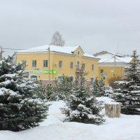 зима в городе :: Сергей Кочнев