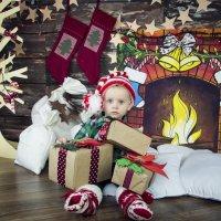 Маленький Санта :: СВЕТЛАНА ЛЕБЕДЬ