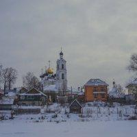 Село Свердлово, Церковь Воздвижения Креста Господня. :: Михаил (Skipper A.M.)