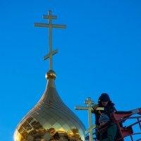 Золотые купола... :: Вадим Кудинов