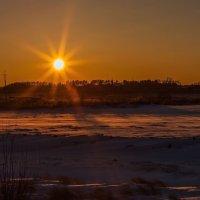 Солнце на закате :: Сергей Сол