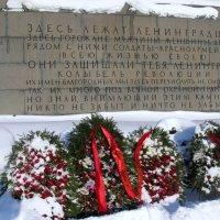 В день полного освобождения Ленинграда от фашистской блокады... :: ТАТЬЯНА (tatik)