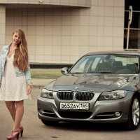 Девушка + BMW :: Илья Танаев