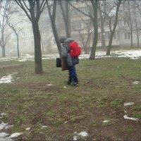 Январским днём такая вот погода... :: Нина Корешкова