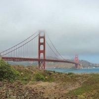 Золотые ворота в Сан-Франциско :: Алексей Меринов
