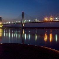 мост через р.Оку,г.Муром :: Алексей -