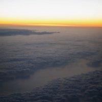 Рассвет на высоте 10000м :: Konstantin Margunov