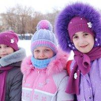 три подружки-веселушки :: Ирина ***