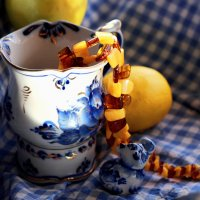 Гжель с лимоном ) :: Ирина Сивовол