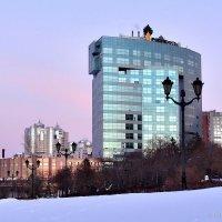 Самарская набережная зимой :: Денис Кораблёв