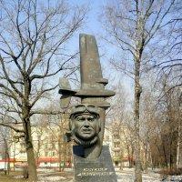 Памятник лётчику М. С. Бабушкину. Москва. :: Елена