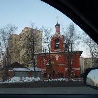 Церковь Успения Пресвятой Богородицы в Черневе, город Красногорск  М.область :: Galina Leskova