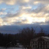 Зимний закат :: Анастасия Вышемирская