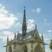 Часовня Св. Губерта, где захоронен Леонардо да Винчи :: leo yagonen