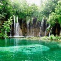 Национальный парк Хорватии - Плитвицкие озера и водопады :: Светлана Игнатьева