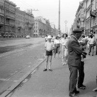 Ленинград 1988. Невский пр. :: Олег Афанасьевич Сергеев