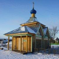 Купальня на Святом озере в Крыпецком монастыре :: Елена Павлова (Смолова)
