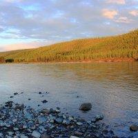 Река как лента атласная... :: Iverinka .