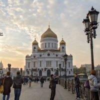 Москва встречает гостей. :: Екатерина Рябинина