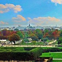 из окна Лувра :: Александр Корчемный