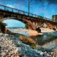 Люблю всё это - реки, мосты, моря... :: Ирина Данилова