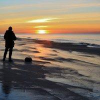 На закате :: Дмитрий Близнюченко