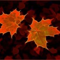 Осенние листья :: Алексей Бажан