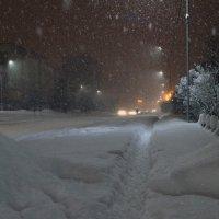 А снег идет. :: Koch