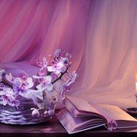 ... Пусть будет вечер с орхидеями... :: Валентина Колова
