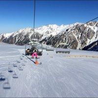 Чимбулак (Chimbulak) - горнолыжный курорт. :: Anna Gornostayeva