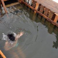 Крещение в Шахтах. Погружение. :: Владимир Болдырев
