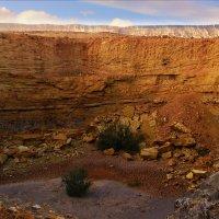 Кратер Рамон в пустыне Негев :: Любовь Белянкина