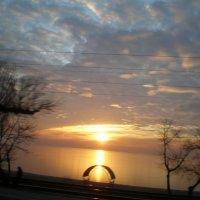 Восход над Азовским морем :: Татьяна Пальчикова