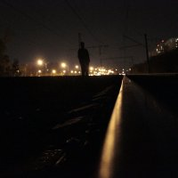 Прогулка по рельсам :: Андрей Сорокин