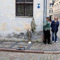 В тихих улочках Риги :: Николай Танаев