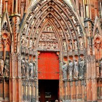 вход в Страсбургский собор :: Александр Корчемный