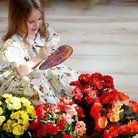 Я вам нарисую цветы... :: Ната Коротченко