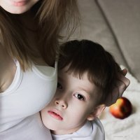 Мама и сын :: Марина Морозова