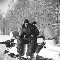 Портрет охотника в полном снаряжении) :: Евгений Золотаев