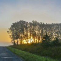 Восход солнца. :: юрий Амосов