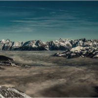 Высоко...Альпы, Австрия.. .ледник Китцштайнхорн - Капрун. :: Александр Вивчарик