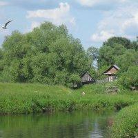 Дом у реки :: Святец Вячеслав
