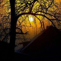 Рассвет в деревне :: Анна Никонорова