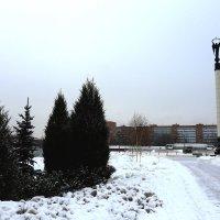 Город зимой :: Екатерина Пинашина